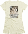 Andy Griffith juniors t-shirt Through Us cream