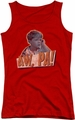 Andy Griffith juniors tank top Aw Pa red