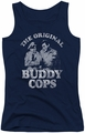 Andy Griffith juniors tank top Buddy Cops navy