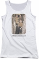 Andy Griffith juniors tank top Tree Photo white
