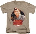 Andy Griffith kids t-shirt Circle Of Trust sand