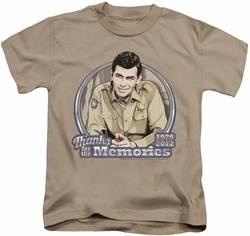 Andy Griffith kids t-shirt Thanks For The Memories sand