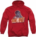 Andy Griffith pull-over hoodie Aw Pa adult red
