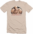 Andy Griffith slim-fit t-shirt 3 Amigos mens cream