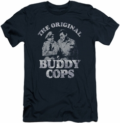 Andy Griffith slim-fit t-shirt Buddy Cops mens navy
