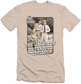 Andy Griffith slim-fit t-shirt Through Us mens cream