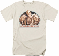 Andy Griffith t-shirt 3 Amigos mens cream