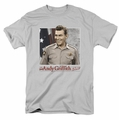 Andy Griffith t-shirt All American mens silver