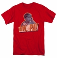 Andy Griffith t-shirt Aw Pa mens red