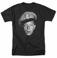 Andy Griffith t-shirt Barney Head mens black