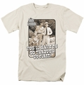 Andy Griffith t-shirt Through Us mens cream