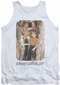 Andy Griffith tank top Tree Photo mens white