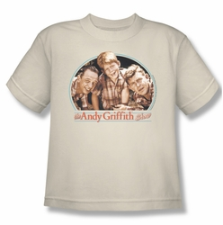 Andy Griffith youth teen t-shirt 3 Amigos cream