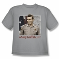 Andy Griffith youth teen t-shirt All American silver
