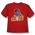 Andy Griffith youth teen t-shirt Aw Pa red