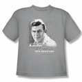 Andy Griffith youth teen t-shirt In Loving Memory silver