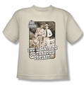 Andy Griffith youth teen t-shirt Through Us cream