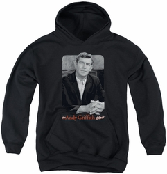 Andy Griffith youth teen hoodie Classic Andy black