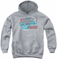 Andy Griffith youth teen hoodie Floyd's Barber Shop athletic heather