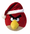 Angry Birds Christmas Hat 5 Inch Mini Plush Figure Red