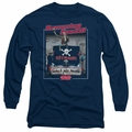 Animal House adult long-sleeved shirt Ramming Speed black