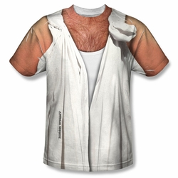 Animal House front sublimation t-shirt Toga short sleeve White