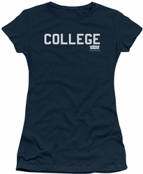 Animal House juniors t-shirt College navy