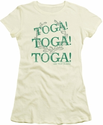 Animal House juniors t-shirt Toga Time cream