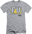 Animal House slim-fit t-shirt Faber University mens heather