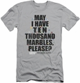 Animal House slim-fit t-shirt Marbles mens silver