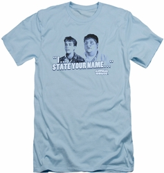 Animal House slim-fit t-shirt Pledges mens light blue
