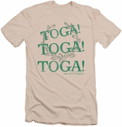 Animal House slim-fit t-shirt Toga Time mens cream