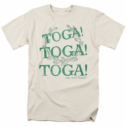 Animal House t-shirt Toga Time mens cream