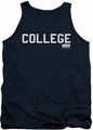 Animal House tank top College mens navy