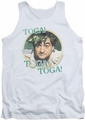 Animal House tank top Toga mens white
