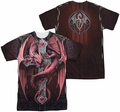 Anne Stokes mens full sublimation t-shirt Gothic Guardian