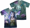 Anne Stokes mens full sublimation t-shirt Mystic Aura