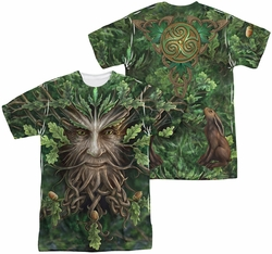 Anne Stokes mens full sublimation t-shirt Oak King