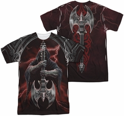 Anne Stokes mens full sublimation t-shirt Rock God
