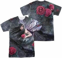 Anne Stokes mens full sublimation t-shirt Rose Fairy