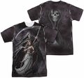 Anne Stokes mens full sublimation t-shirt Summon The Reaper