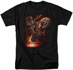 Anne Stokes t-shirt Hellrider mens black