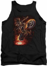 Anne Stokes tank top Hellrider adult black