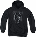 Anne Stokes youth teen hoodie Dance With Death black