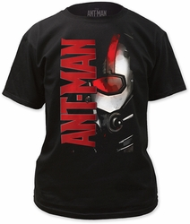 Ant-Man logo adult tee mens black pre-order