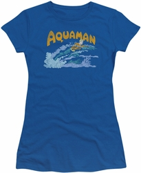 Aquaman juniors t-shirt Aqua Swim royal