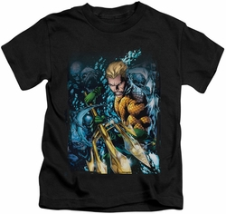 Aquaman kids t-shirt Aquaman #1 black