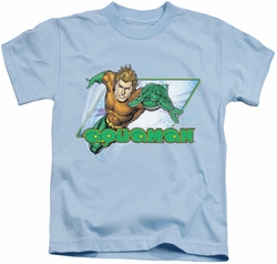 Aquaman kids t-shirt Water Man light blue
