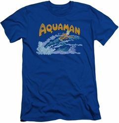 Aquaman slim-fit t-shirt Aqua Swim mens royal