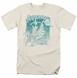 Aquaman t-shirt Catch a Wave mens cream